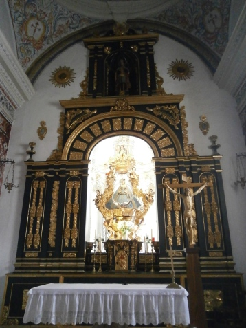 Altarpiece of Santiago church
