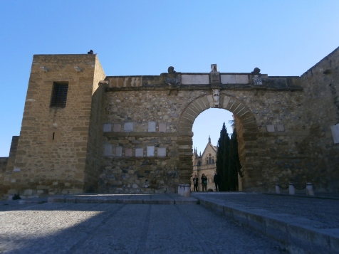 Entrance gate to the Alcazaba