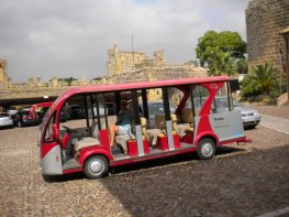 Electric touristic bus
