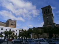 Castle and Asuncion church