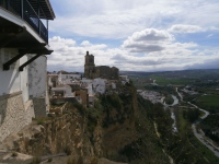 From the terrace of the Parador