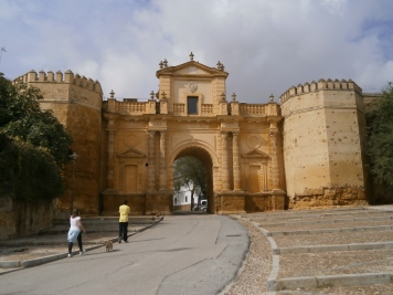 Cordoba Gate and fortress