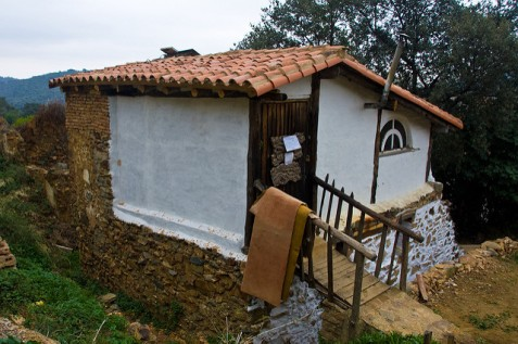 One of the houses in El Calabacino
