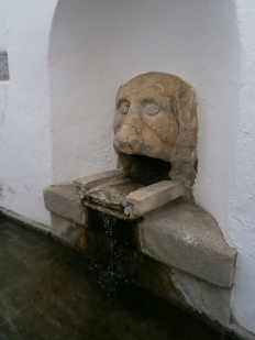 A fountain in the streets of Aracena