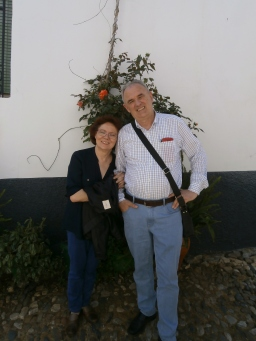 My parents in Linares de la Sierra