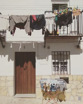 Laundry in Grazalema