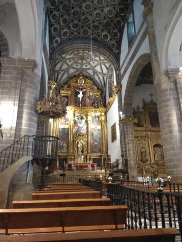Altarpiece of La Oliva Church